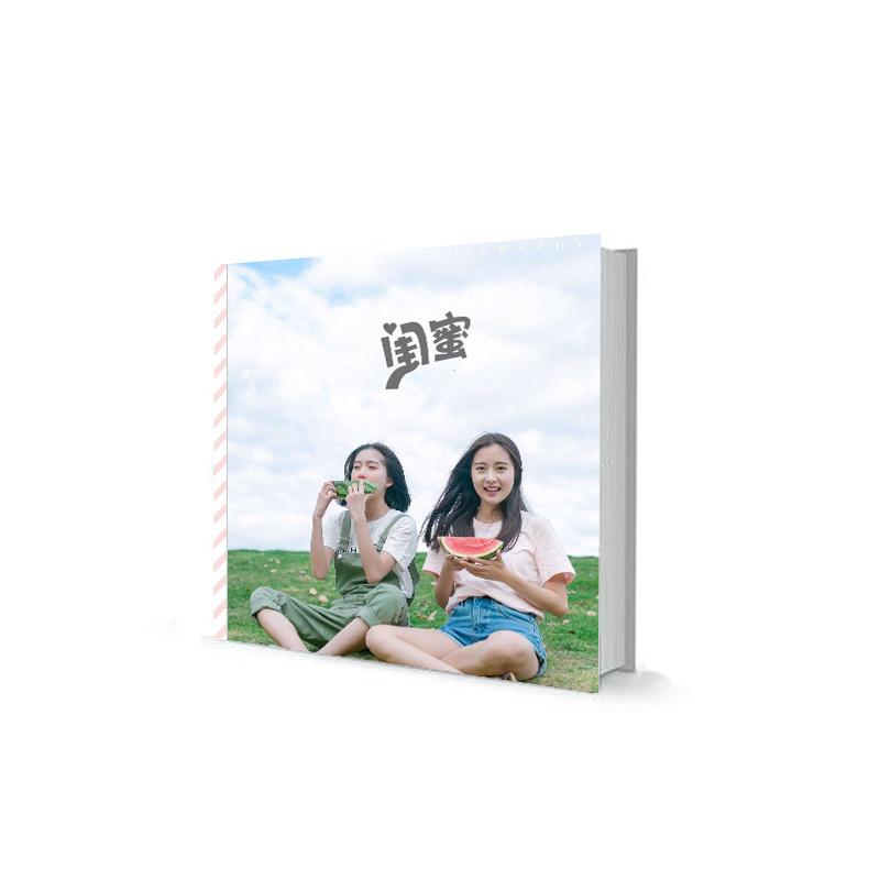 12寸旅行照片书定制纪念册手工情侣网红礼物相册本diy制作